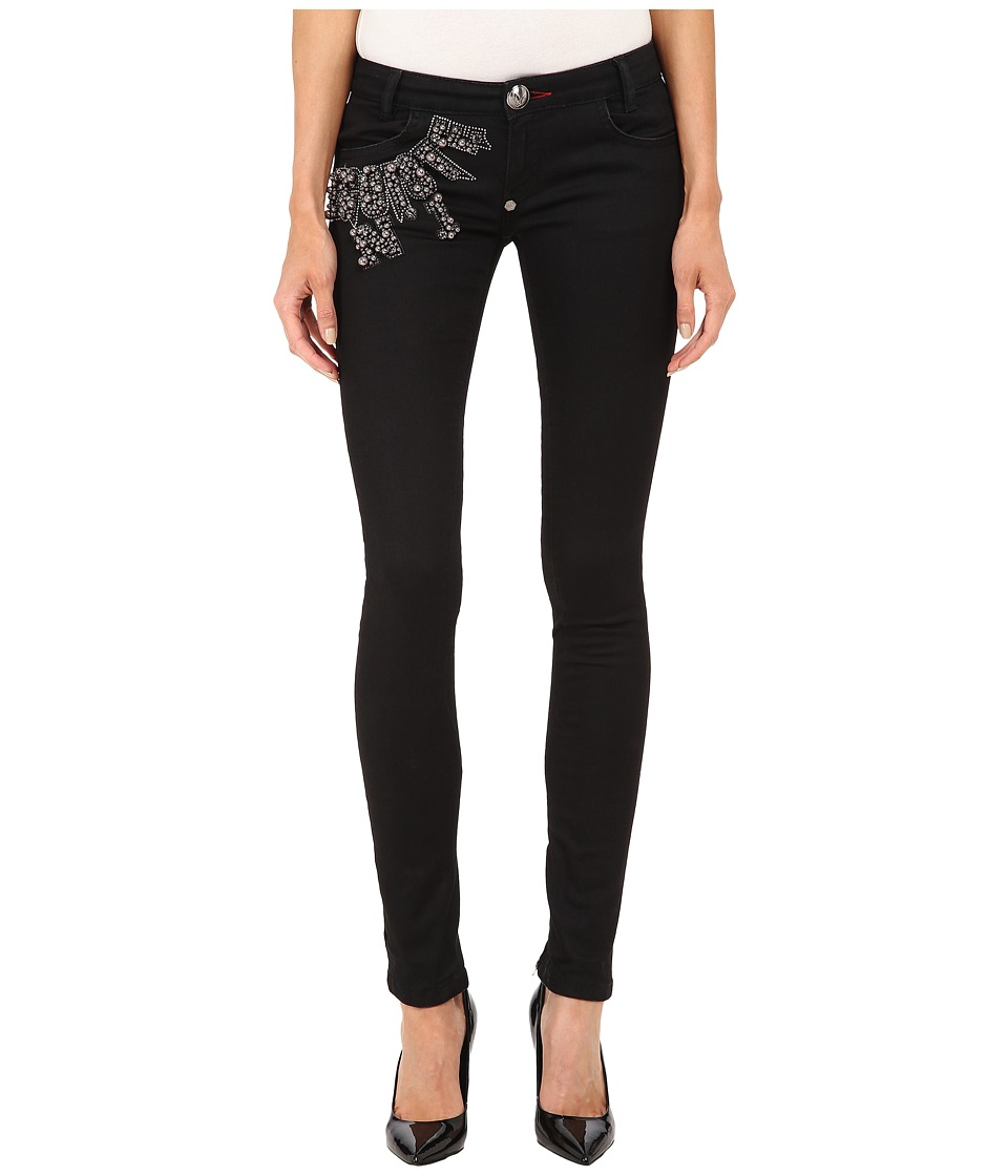Philipp Plein - Super Slim Fit Jeans (Black Caviar) Women