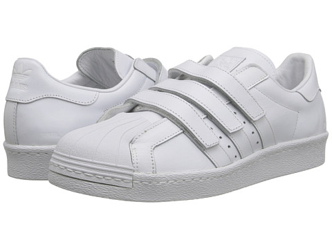 adidas by Juun. J - Superstar 80s (White/White/White) Shoes