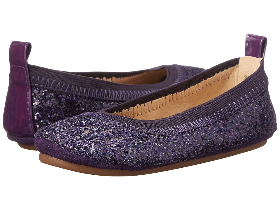 Yosi Samra Kids - Sammie Super Soft Ballet Flat (Toddler/Little Kid/Big Kid) (Violet Twilight/Grape) Girls Shoes