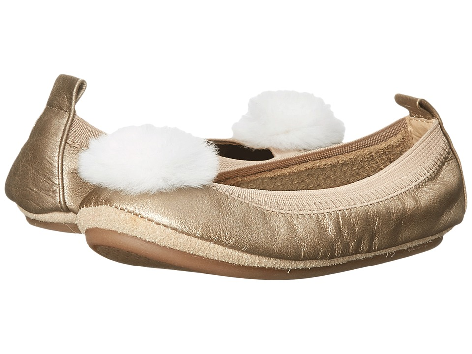 Yosi Samra Kids - Sonya Super Soft Ballet Flat (Toddler/Little Kid/Big Kid) (Fawn/Ivory) Girls Shoes