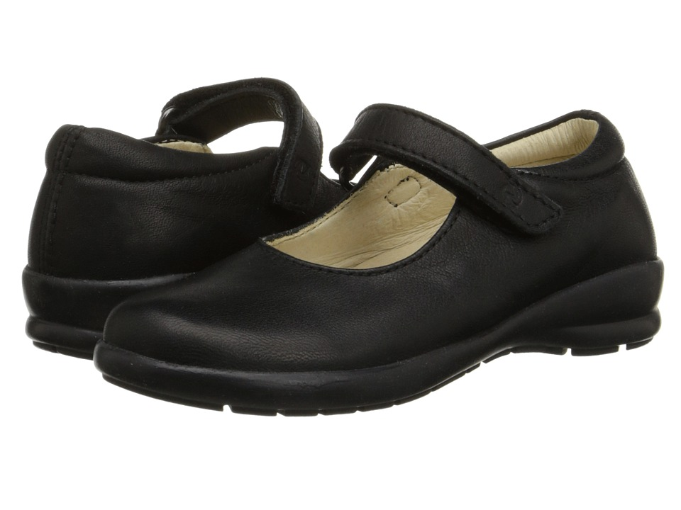 Naturino - Nat. 4465 (Toddler/Little Kid/Big Kid) (Black Leather) Girl's Shoes