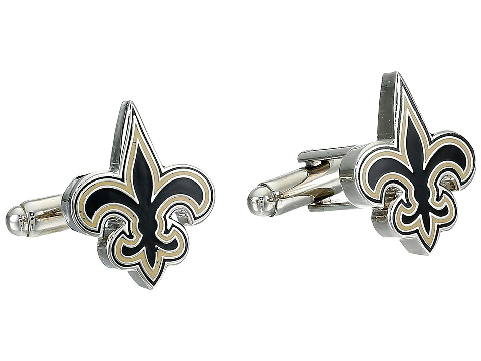Cufflinks Inc. - New Orleans Saints Cufflinks (Black) Cuff Links
