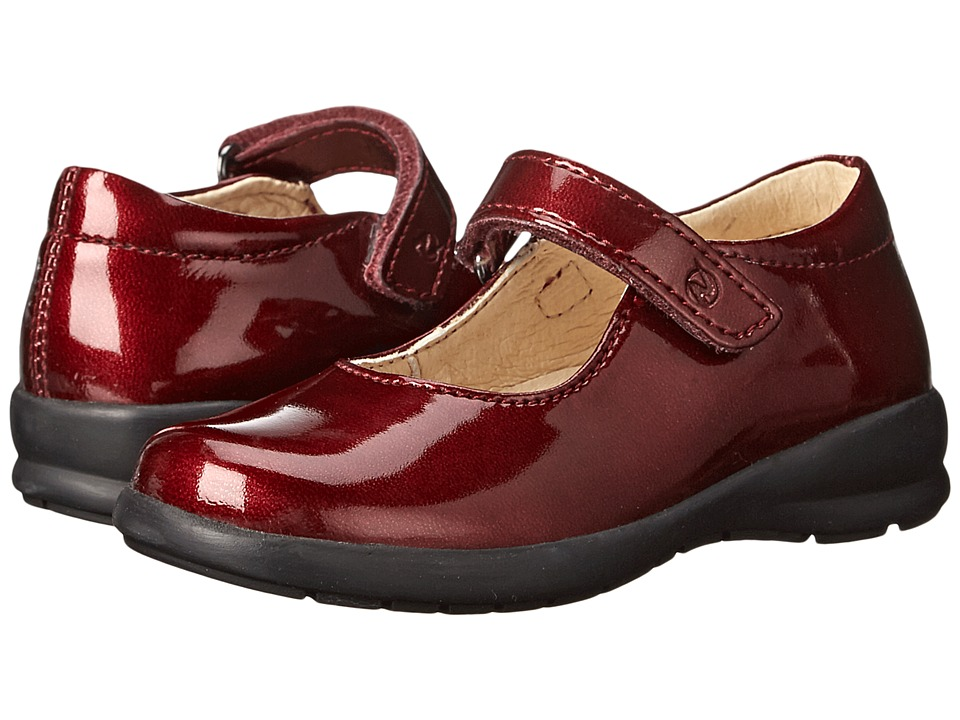 Naturino - Nat. 4465 (Toddler/Little Kid/Big Kid) (Bordo Patent) Girl's Shoes