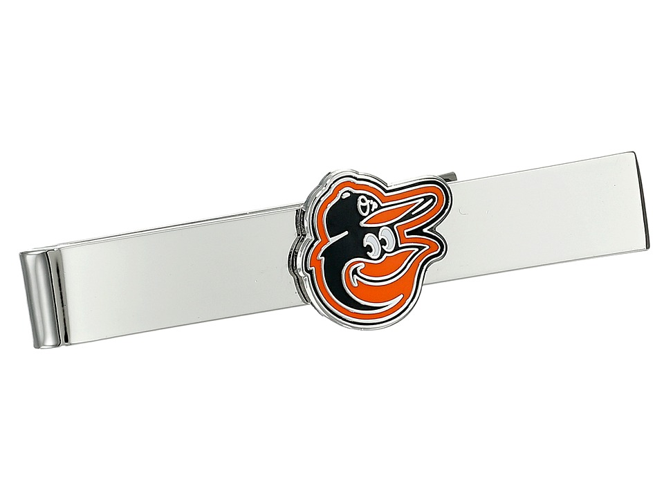 Cufflinks Inc. - Baltimore Orioles Tie Bar (Orange) Cuff Links
