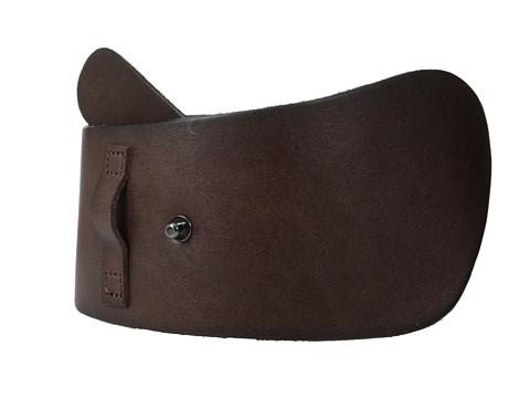 Liebeskind - LKB649 Vegetable Leather Belt (Sienna Brown) Women