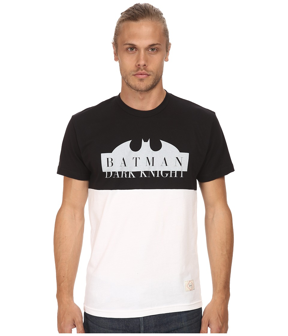 KINETIX - Batman Split Premium Tee (White/Black) Men