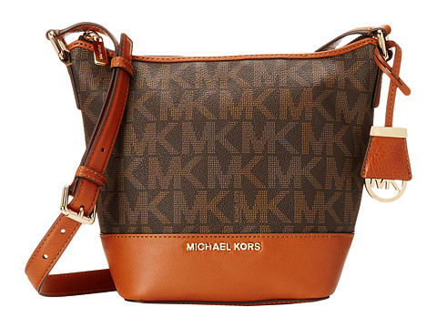 MICHAEL Michael Kors - Bedford Small Messenger (Brown) Cross Body Handbags