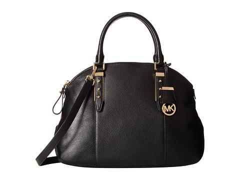 MICHAEL Michael Kors - Bowery Large Satchel (Black) Satchel Handbags