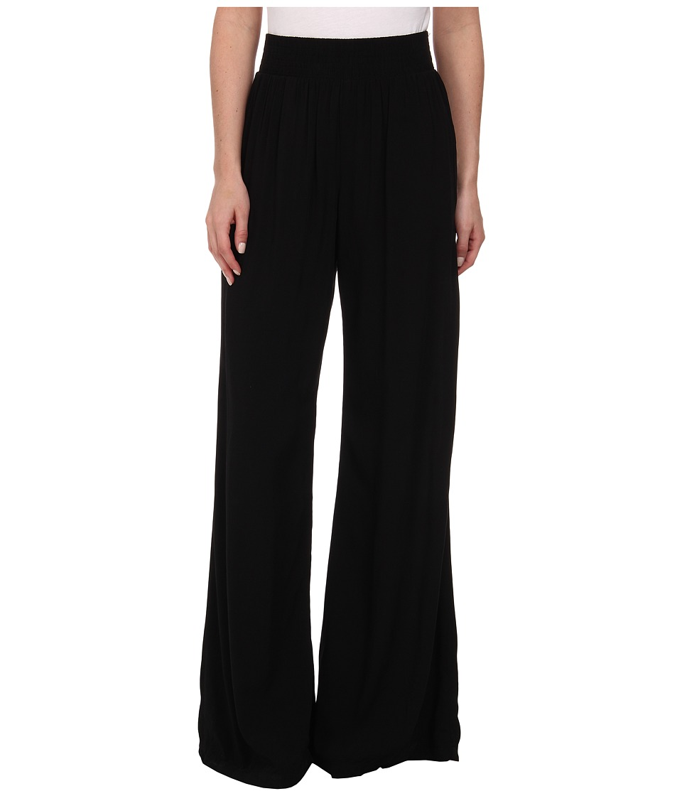 Michael Stars - Modern Rayon Wide Leg Pants (Black) Women's Casual Pants