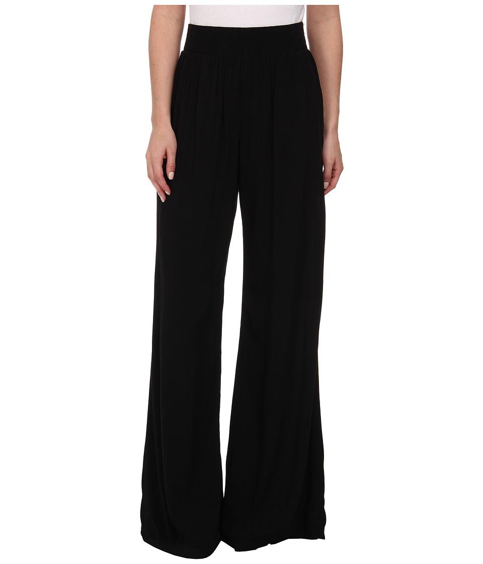 Michael Stars - Modern Rayon Wide Leg Pants (Black) Women's Casual Pants