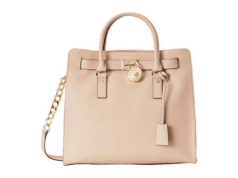 MICHAEL Michael Kors - Hamilton Large North/South Tote (Blush) Tote Handbags