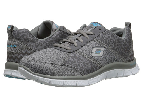 SKECHERS - Flex Appeal - Tribeca (Charcoal) Women's Shoes