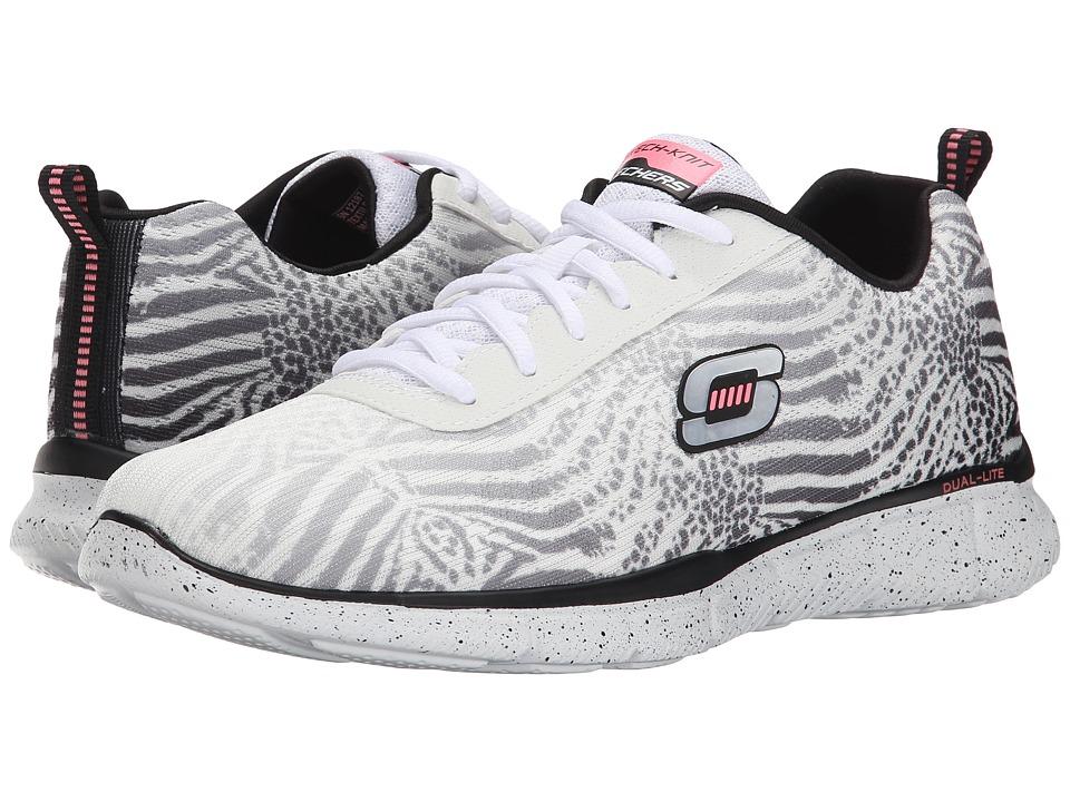 SKECHERS - Equalizer - Surf Safari (White/Black) Women's Shoes