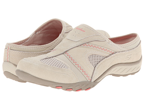SKECHERS - Breathe-Easy - Down-To-Earth (Natural) Women's Shoes