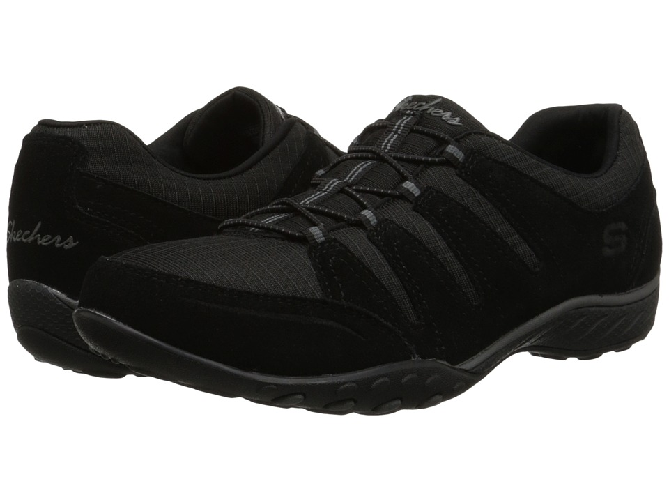 SKECHERS - Breathe-Easy - Imagine (Black) Women's Shoes