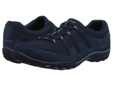 SKECHERS - Breathe-Easy - Imagine (Navy) Women's Shoes