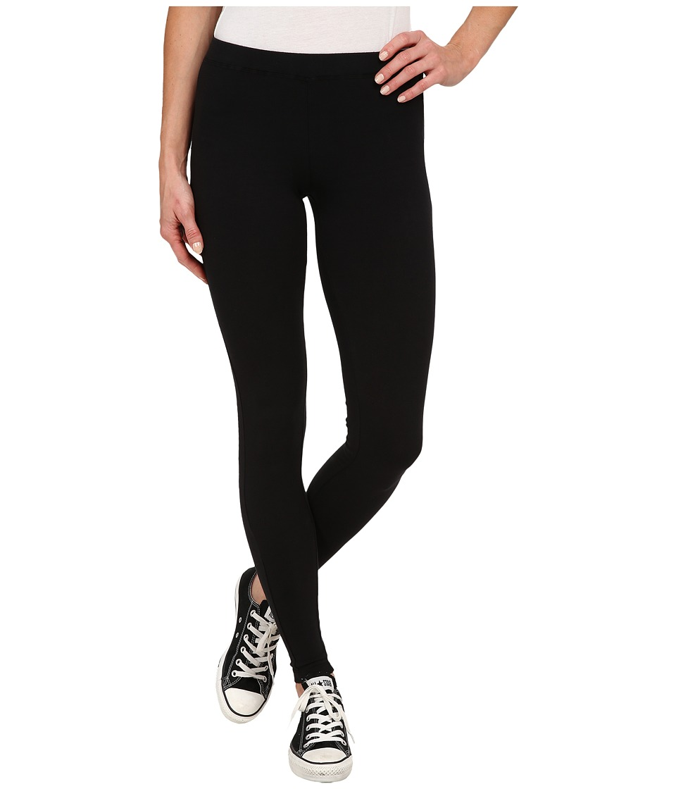 Converse - Global Fit Knit Leggings (Black) Women's Casual Pants