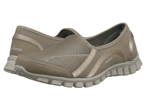 SKECHERS - EZ Flex 2 - Drop-In-Go (Taupe) Women's Shoes