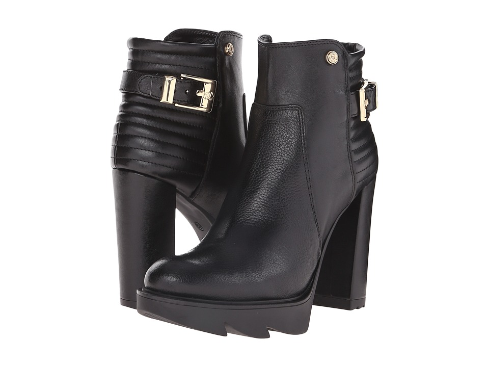 LOVE Moschino - High Heel Booties (Black) Women's Zip Boots