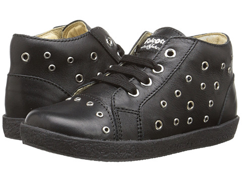 Naturino - Falcotto 1433 (Toddler) (Black) Girl's Shoes