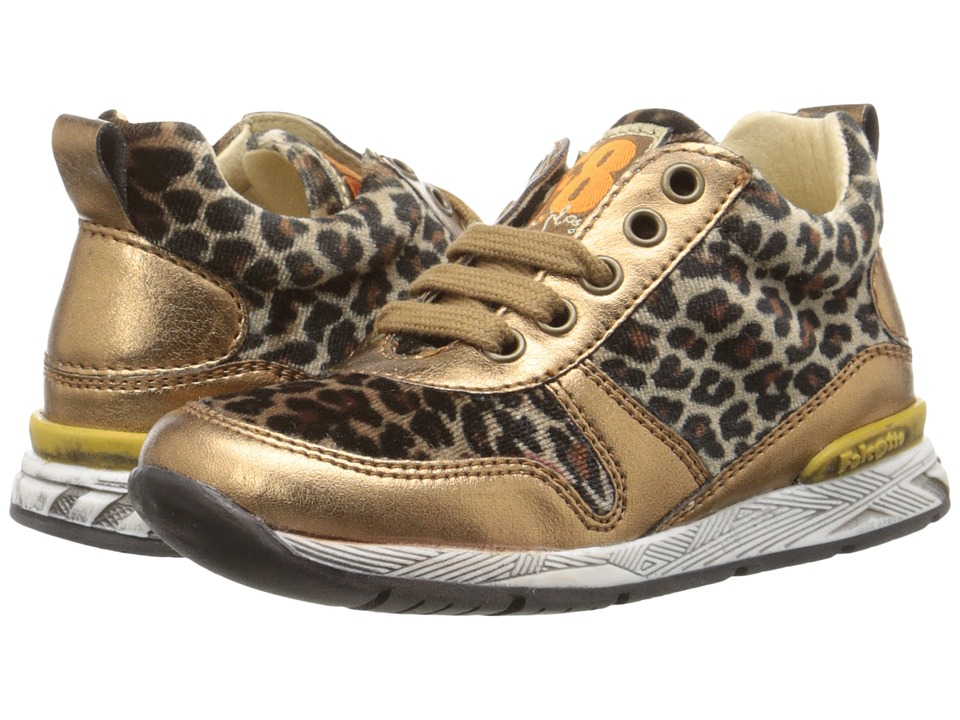 Naturino - Falcotto Daisy (Toddler) (Bronze Leopard) Girl's Shoes