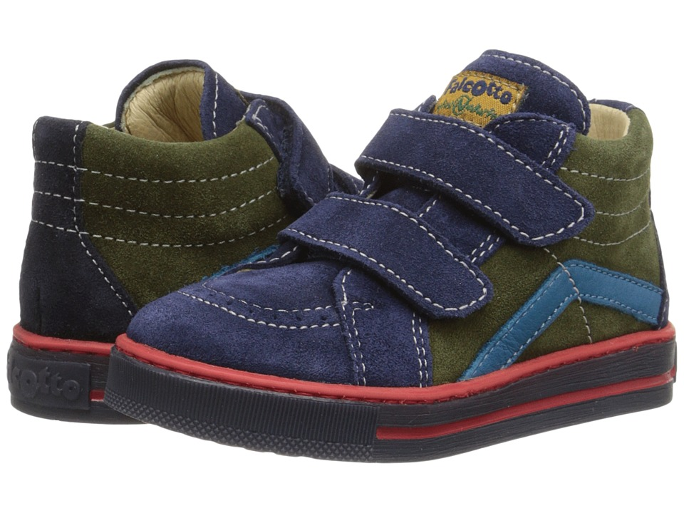 Naturino - Falcotto Krazy (Toddler) (Navy) Boy's Shoes