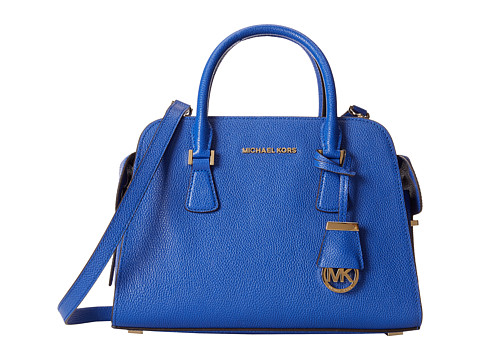 MICHAEL Michael Kors - Harper Medium Satchel (Electric Blue) Satchel Handbags