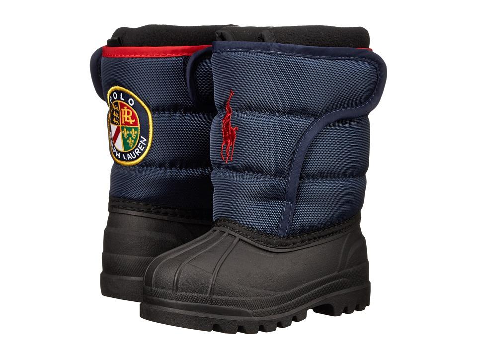 Polo Ralph Lauren Kids - Hamilten EZ (Toddler) (Navy Nylon/Red) Boys Shoes