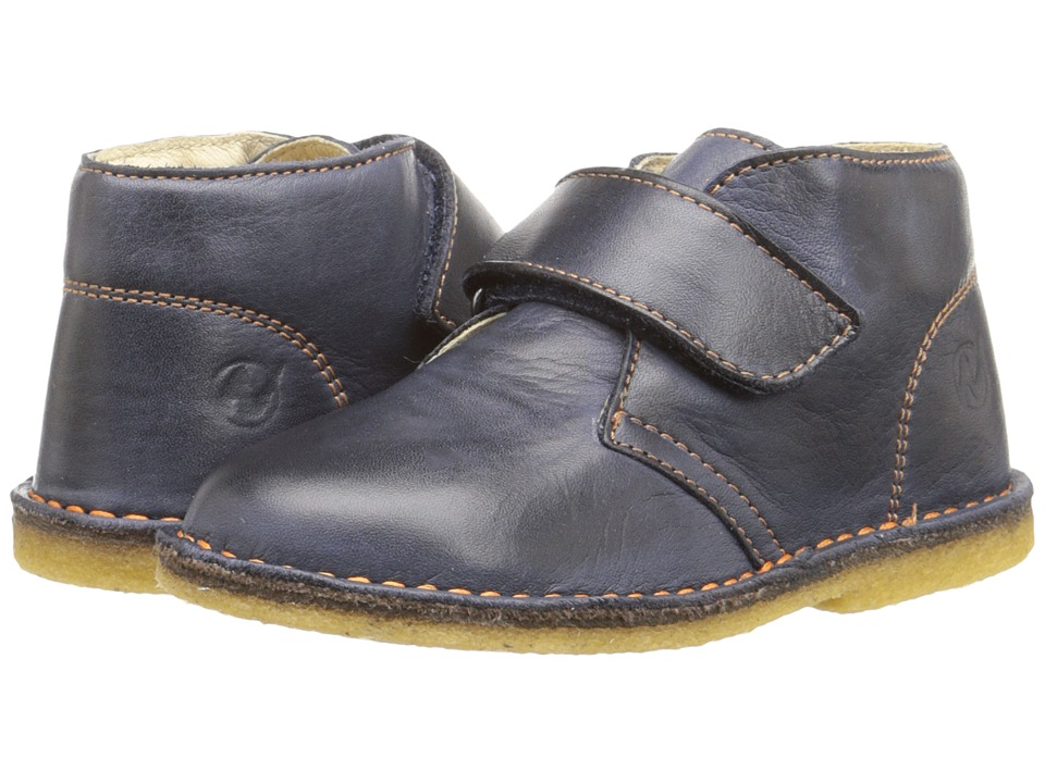 Naturino - Nat. 4680 (Toddler/Little Kid) (Blue Leather) Boy's Shoes