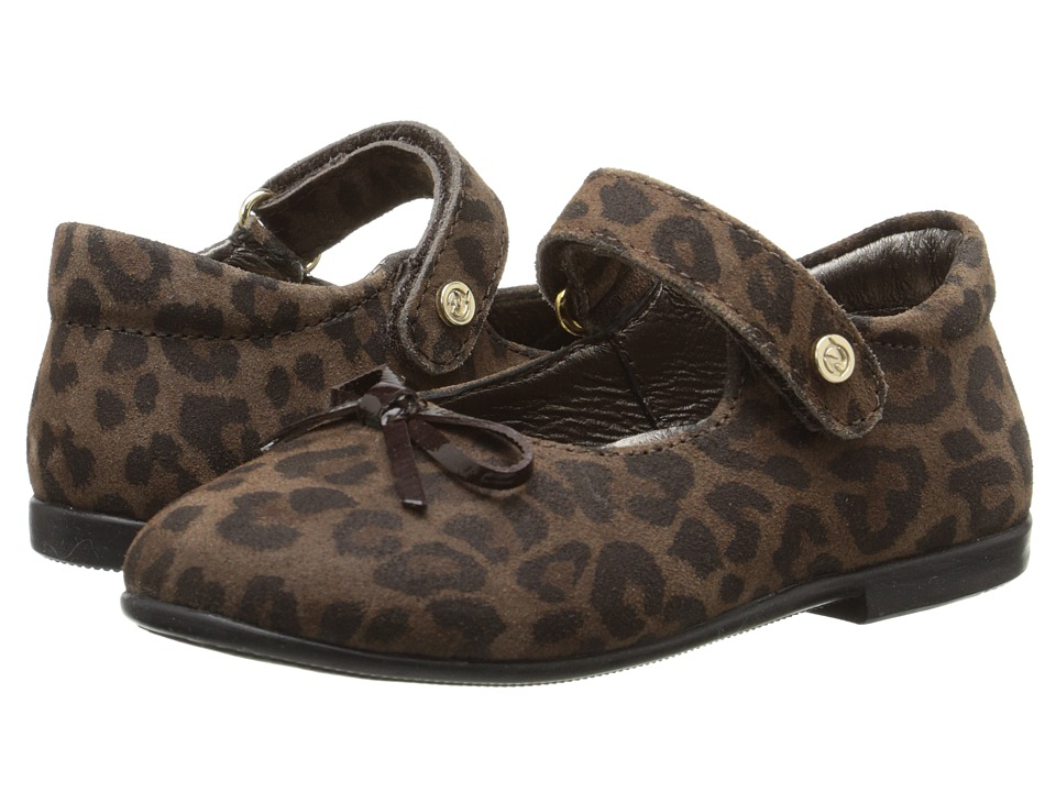 Naturino - Nat. 4524 (Toddler/Little Kid) (Leopard) Girl's Shoes