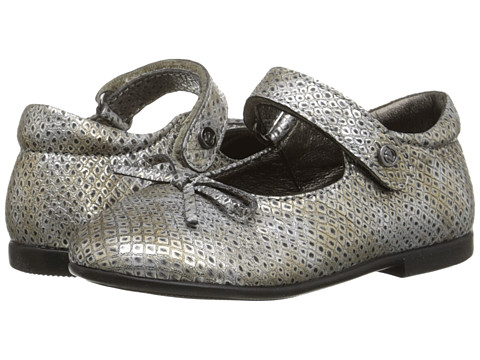 Naturino - Nat. 4524 (Toddler/Little Kid) (Silver) Girl's Shoes
