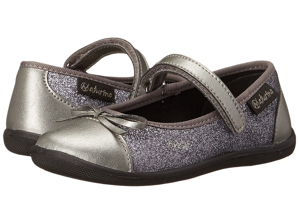 Naturino - Nat. 8063 (Toddler/Little Kid) (Silver) Girl's Shoes