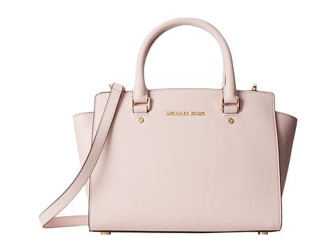 MICHAEL Michael Kors - Selma Medium Tz Satchel (Blossom) Satchel Handbags