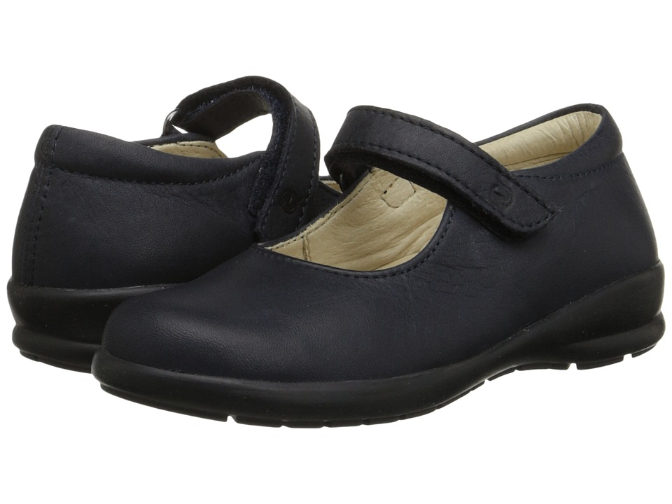Naturino - Nat. 4465 (Toddler/Little Kid/Big Kid) (Blue Leather) Girl's Shoes