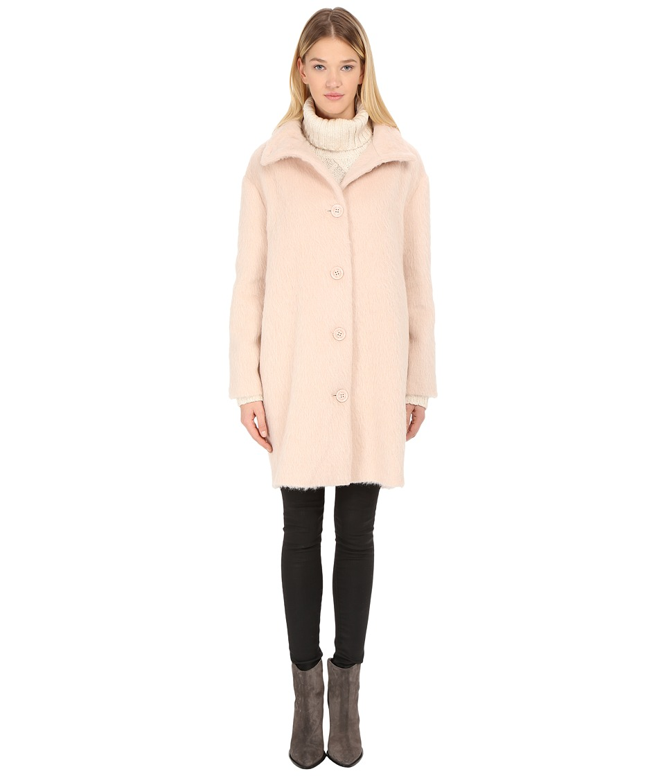 LOVE Moschino - Wool Coat (Light Brown) Women's Coat