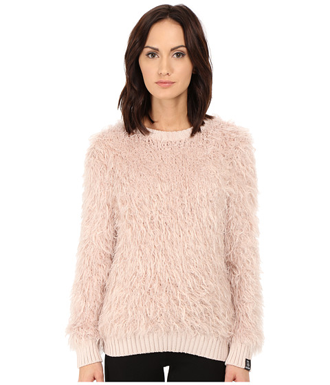 LOVE Moschino - Furry Sweater (Pink) Women's Sweater