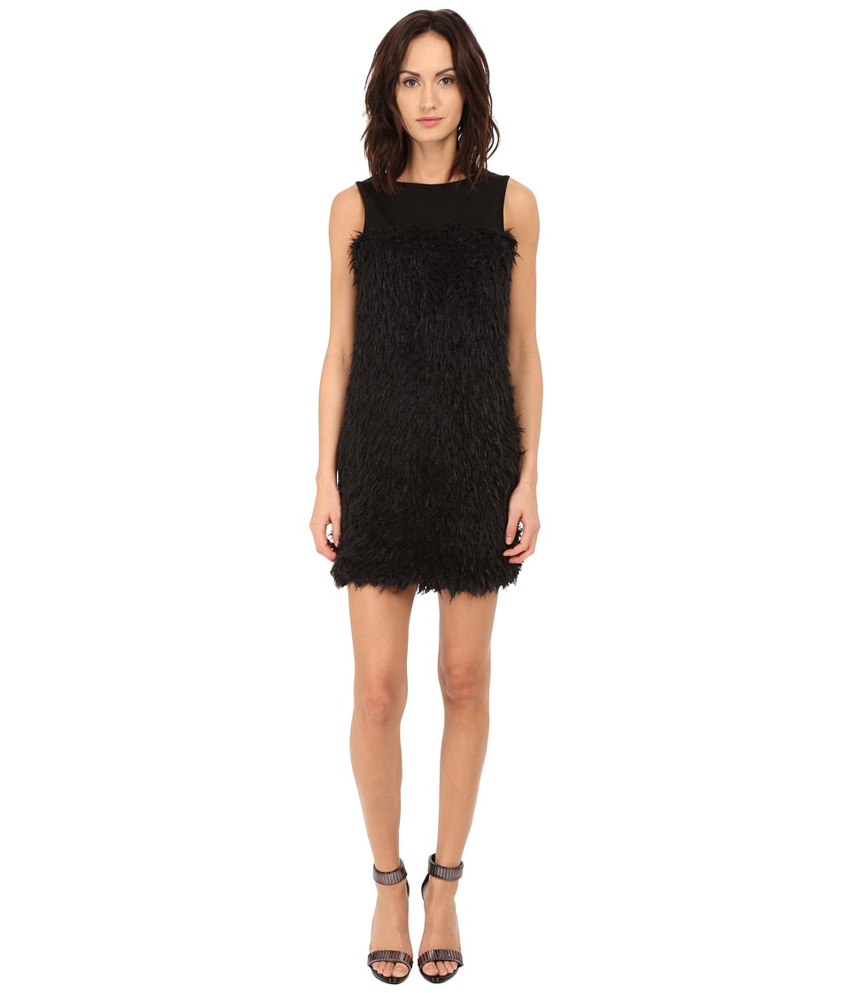 LOVE Moschino Sleeveless Cocktail Dress (Black) Women