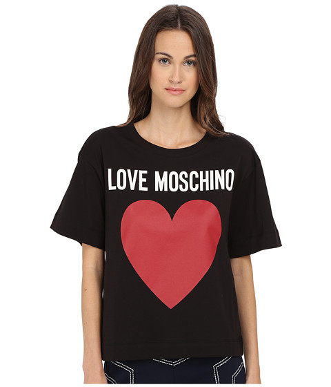LOVE Moschino - Icon T-Shirt (Black) Women's T Shirt
