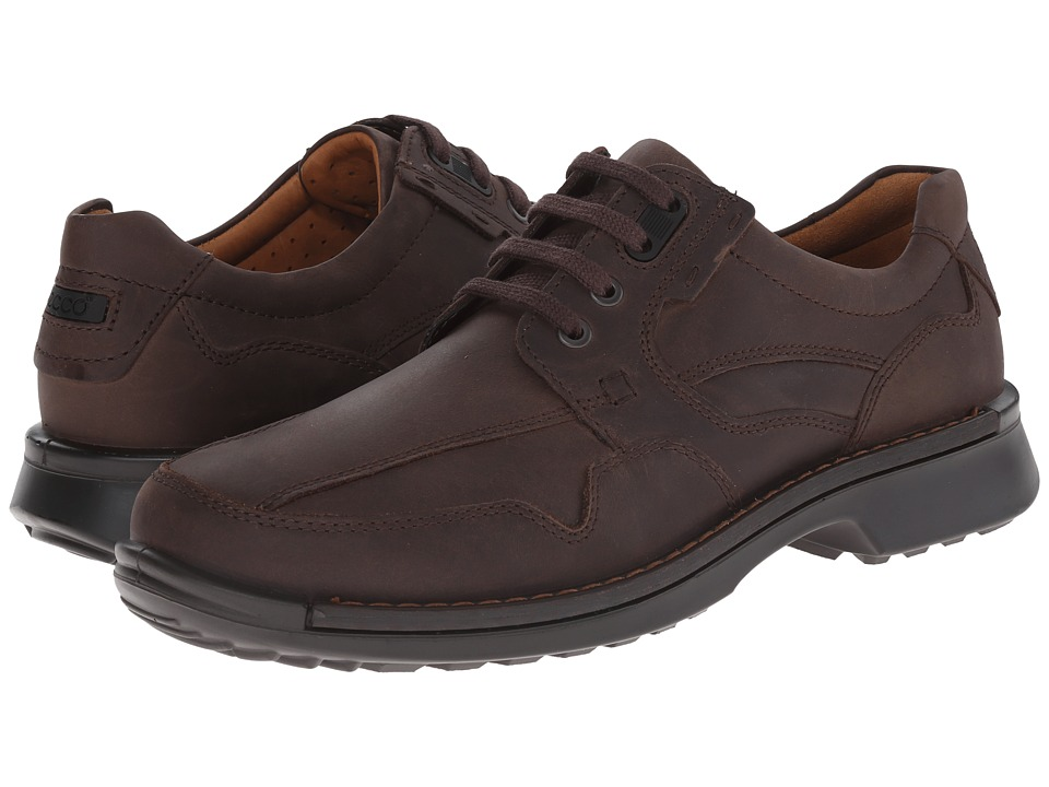 ECCO - Fusion Casual Tie (Coffee) Men's Lace up casual Shoes