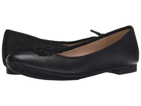 Clarks - Carousel Ride (Black Leather) Women's Slip-on Dress Shoes