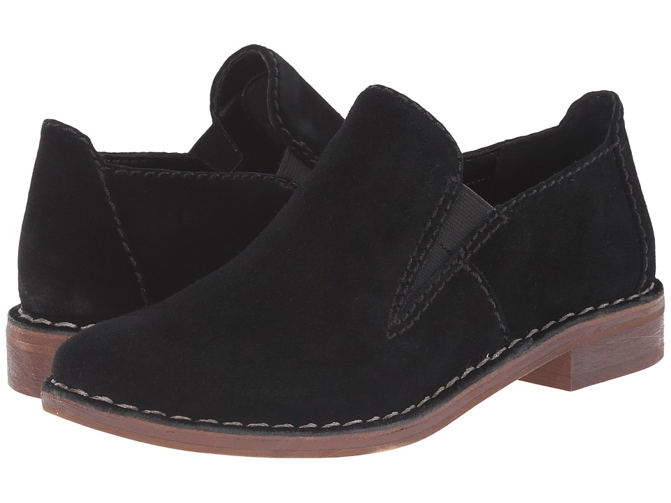 Clarks - Cabaret City (Black Suede) Women's Shoes