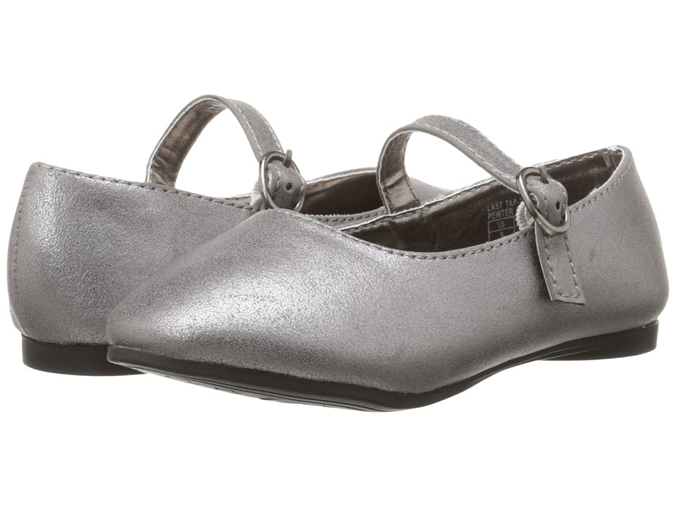 Kenneth Cole Reaction Kids - Last Tap 2 (Toddler/Little Kid) (Pewter) Girl's Shoes
