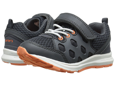 Carters - Matias-B (Toddler/Little Kid) (Grey/Orange) Boy's Shoes
