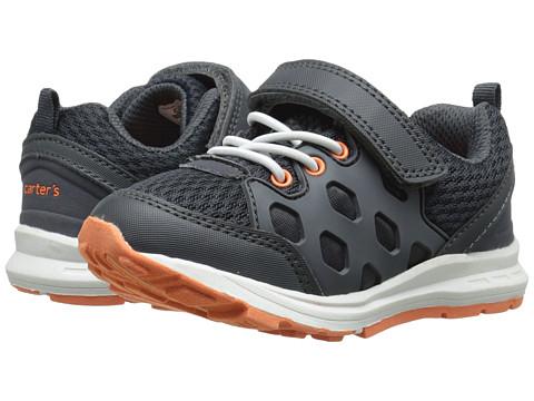 Carters - Matias-B (Toddler/Little Kid) (Grey/Orange) Boy's Shoes