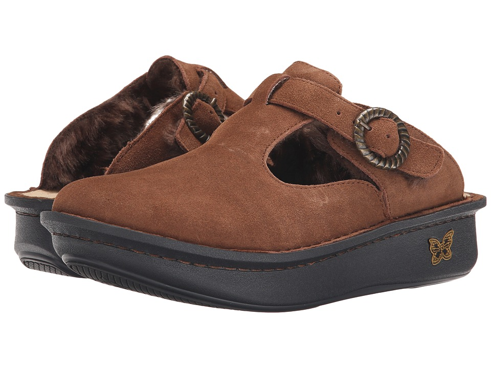 Alegria - Classic (Choco Shearling) Women's Clog Shoes