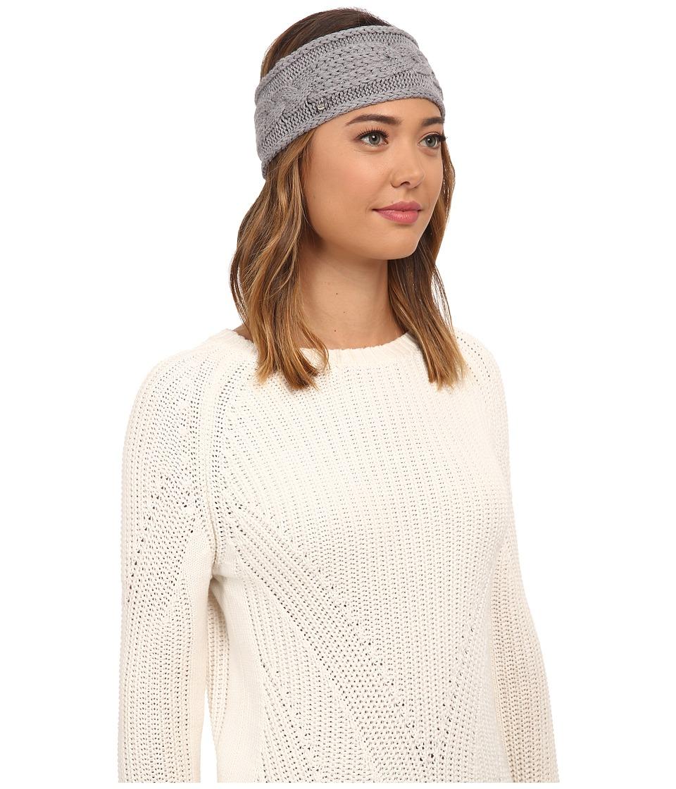 UGG - Isla Lurex Cable Headband (Grey Heather Multi) Headband