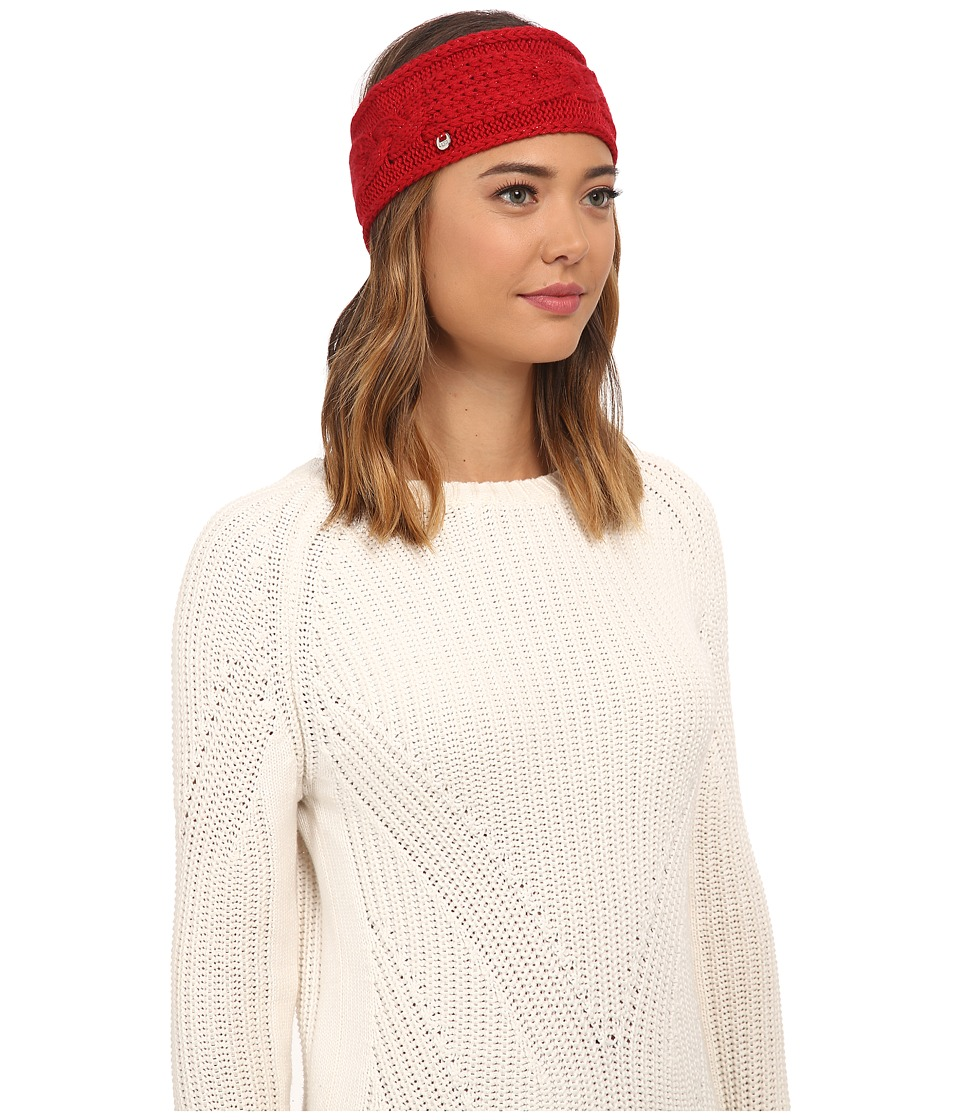 UGG - Isla Lurex Cable Headband (Scarlett Multi) Headband