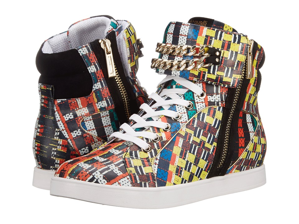 Just Cavalli - Hightop w/ Chain (Multicolor Variant) Women's Lace up casual Shoes
