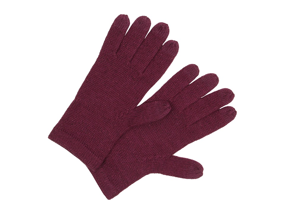 UGG - All Over Lurex Tech Glove (Aster Multi) Wool Gloves