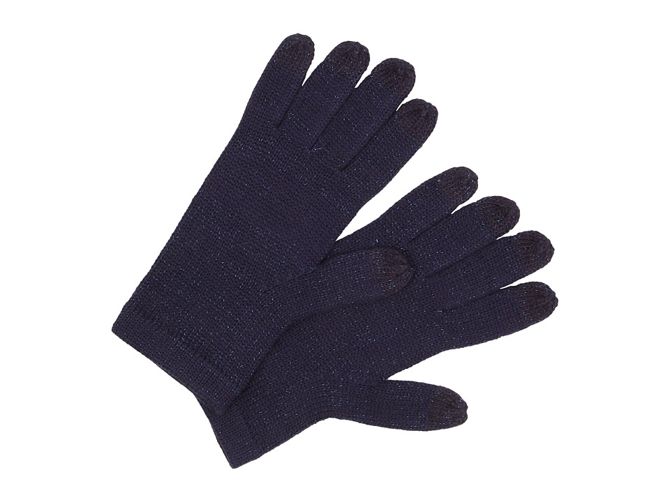 UGG - All Over Lurex Tech Glove (Peacoat Multi) Wool Gloves